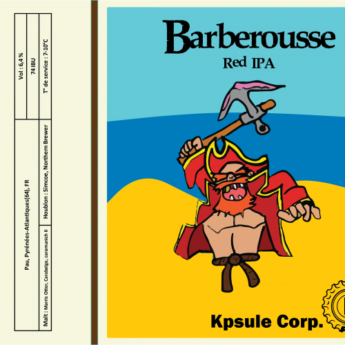 Barberousse (Red IPA)